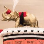 Vintage Whimsical Circus Birthday Party on Kara's Party Ideas | KarasPartyIdeas.com
