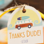 Vintage Modern Surfer Birthday Party on Kara's Party Ideas | KarasPartyIdeas.com (2)