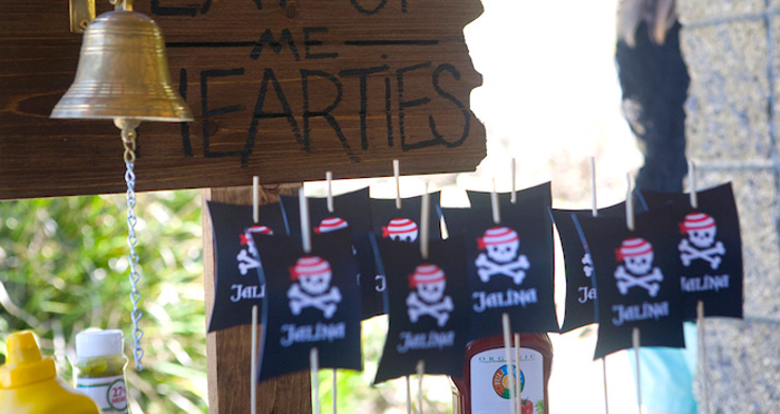 Misty Cove Pirate Birthday Party on Kara's Party Ideas | KarasPartyIdeas.com