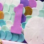 """Princess of the Sea"" Birthday Party on Kara's Party Ideas | KarasPartyIdeas.com (3)"