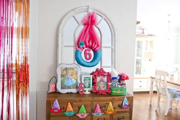"Highlight table from a ""Troll-tastic"" Trolls Birthday Party on Kara's Party Ideas | KarasPartyIdeas.com (44)"
