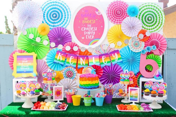 Karas Party Ideas Troll tastic Trolls Birthday