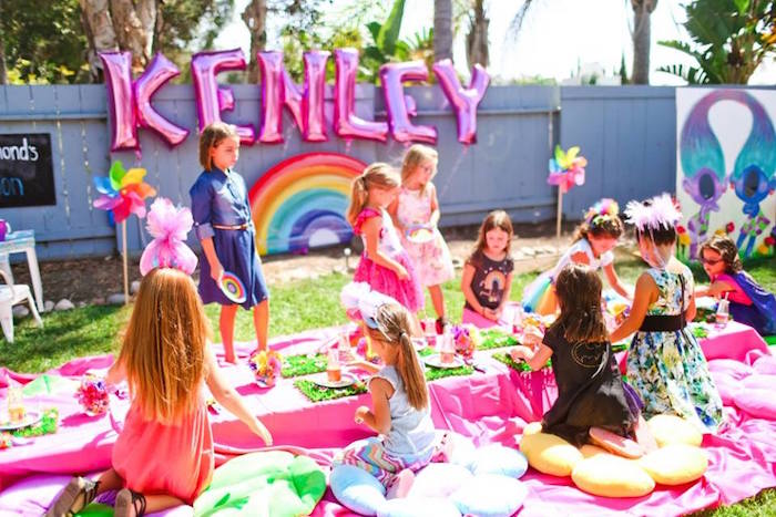 """Troll-tastic"" Trolls Birthday Party on Kara's Party Ideas | KarasPartyIdeas.com (15)"
