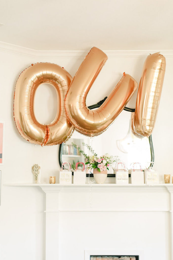OUI balloons from An Elegant French Fete Birthday Party on Kara's Party Ideas | KarasPartyIdeas.com (12)