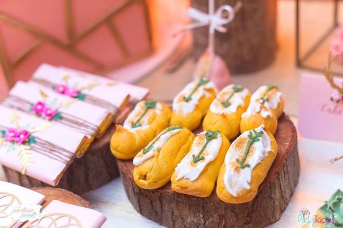 Boho Twinkies from a Bohemian Coachella Birthday Party on Kara's Party Ideas | KarasPartyIdeas.com (28)