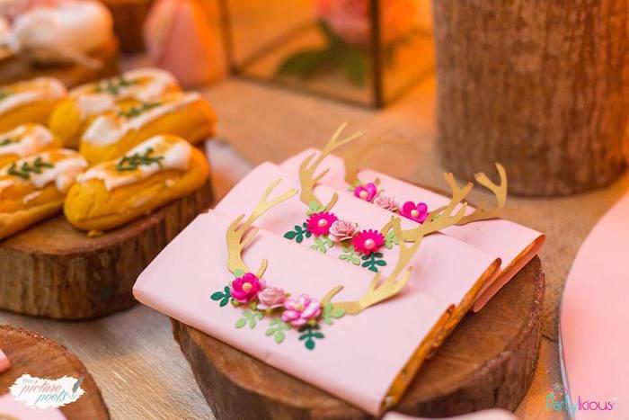 Custom candy bar wrappers from a Bohemian Coachella Birthday Party on Kara's Party Ideas | KarasPartyIdeas.com (9)