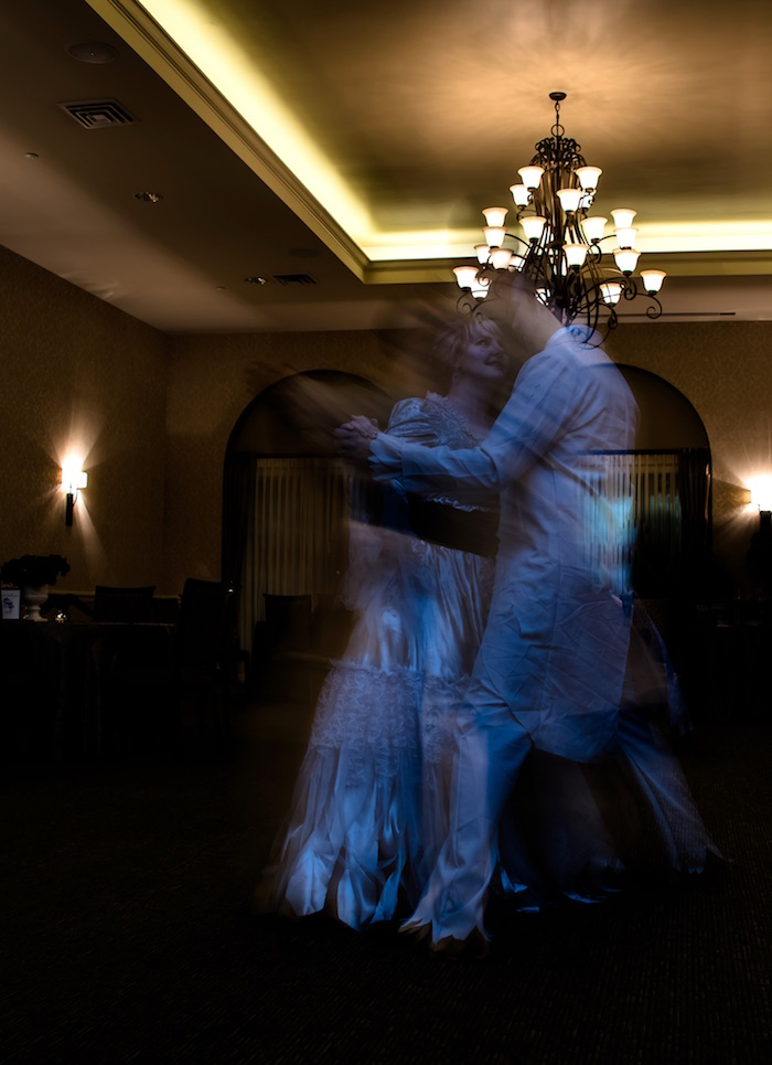 """Ghost dance from a Corpse Bride """"Vow-lloween"""" Wedding Anniversary Party on Kara's Party Ideas   KarasPartyIdeas.com (17)"""