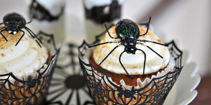 Creepy Spider Halloween Party on Kara's Party Ideas | KarasPartyIdeas.com (2)