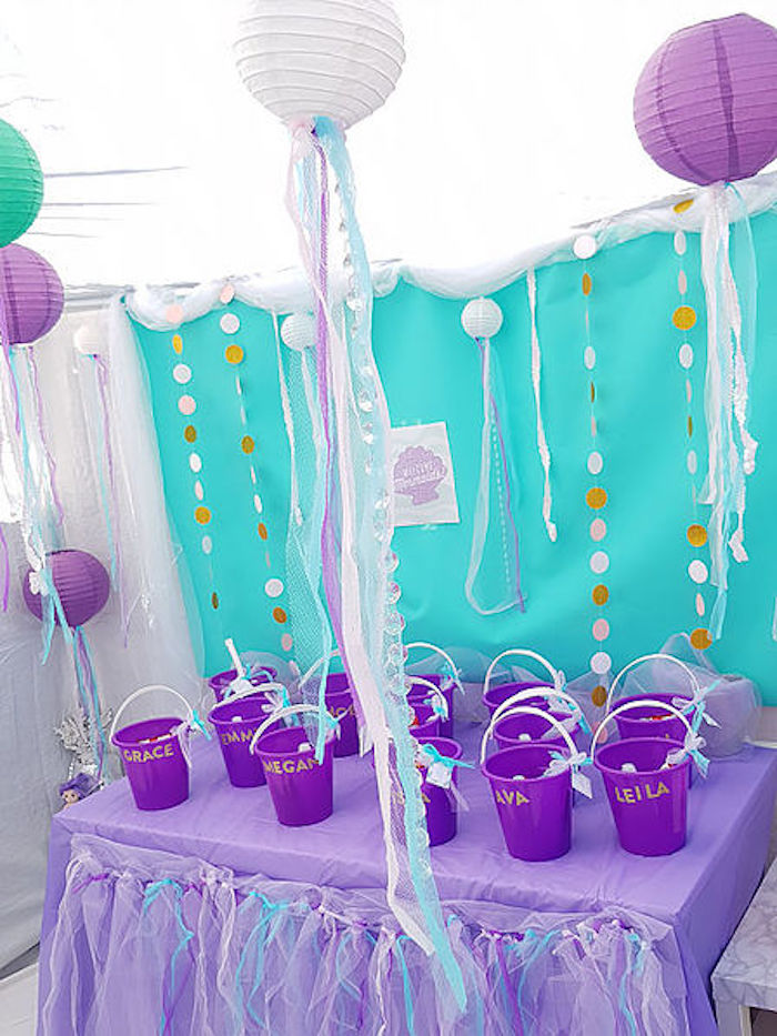 DIY Island Mermaid Birthday Party