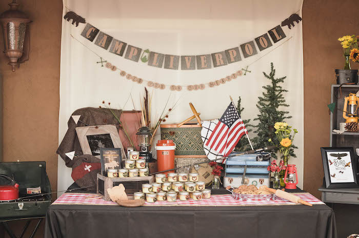 End of Summer Retro Camping Party on Kara's Party Ideas | KarasPartyIdeas.com (13)