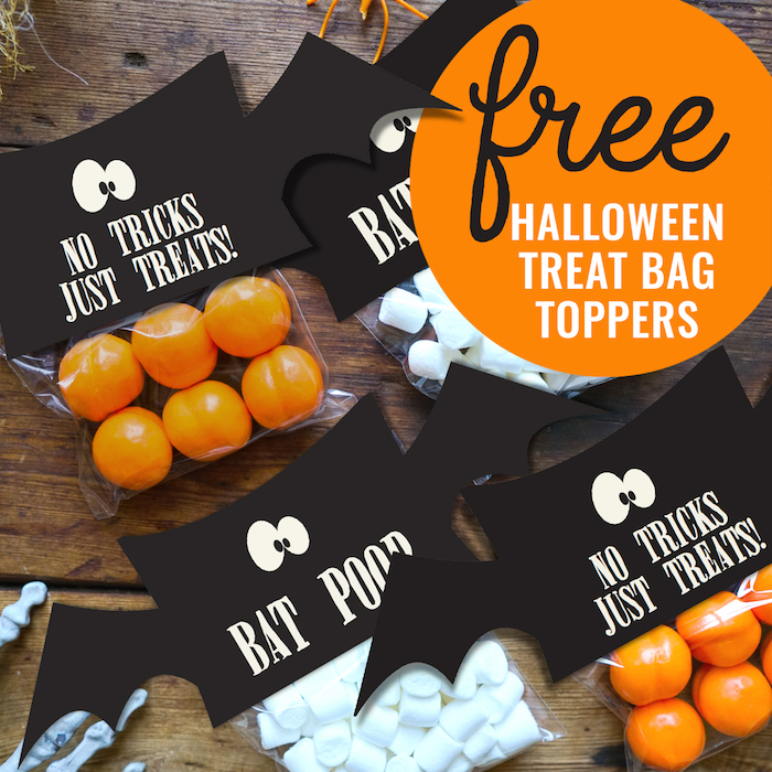 Karas Party Ideas Free Halloween Treat Bag Topper Printable