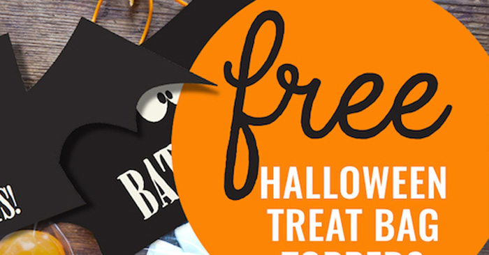 FREE Halloween Treat Bag Topper Printable on Kara's Party Ideas | KarasPartyIdeas.com (1)