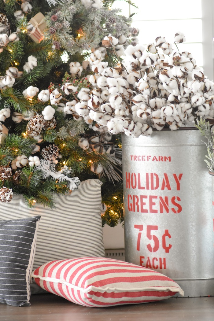 Kara's Party Ideas Farmhouse Christmas Tree | Michaels Dream Tree