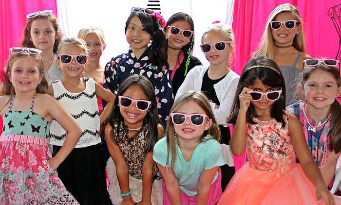 Fashionistas from a Fashion Show Birthday Party on Kara's Party Ideas | KarasPartyIdeas.com (31)
