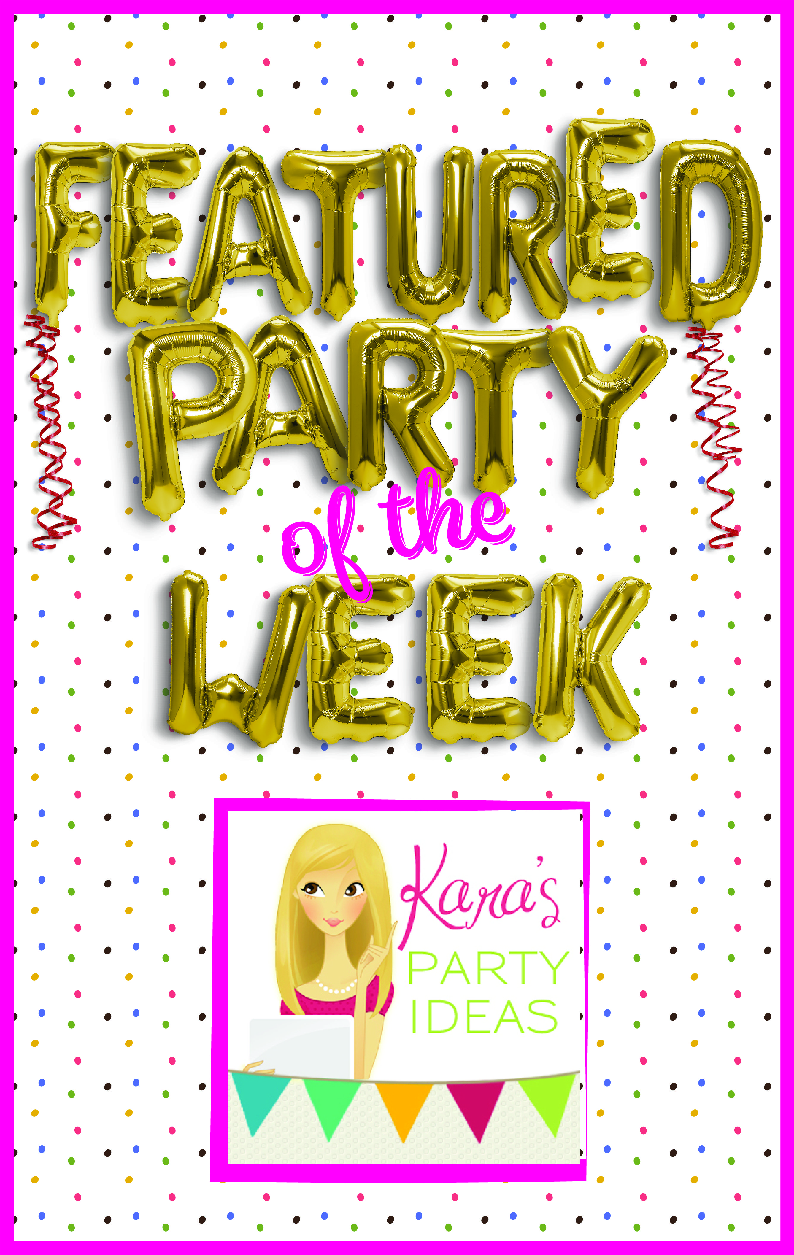 Featured Party of the Week: Penguin Party from Kara's Party Ideas