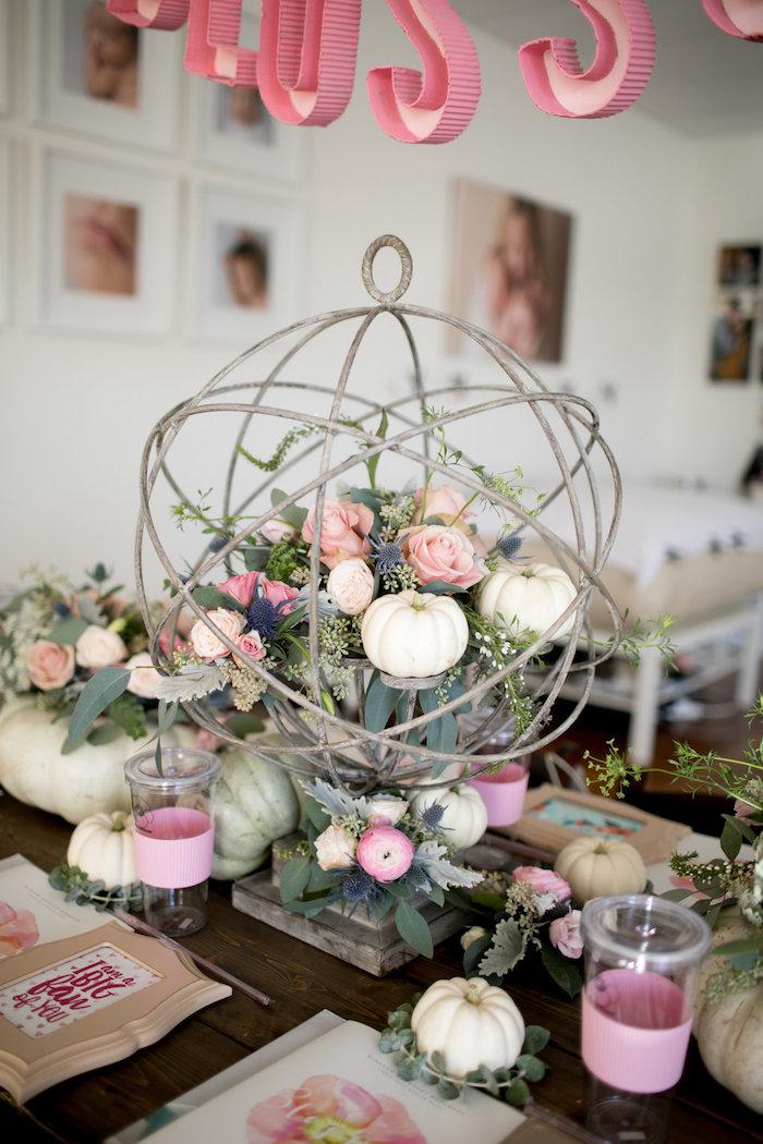 kara u0026 39 s party ideas floral fall baby shower