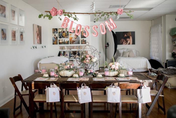 Floral Fall Baby Shower on Kara's Party Ideas | KarasPartyIdeas.com (24)
