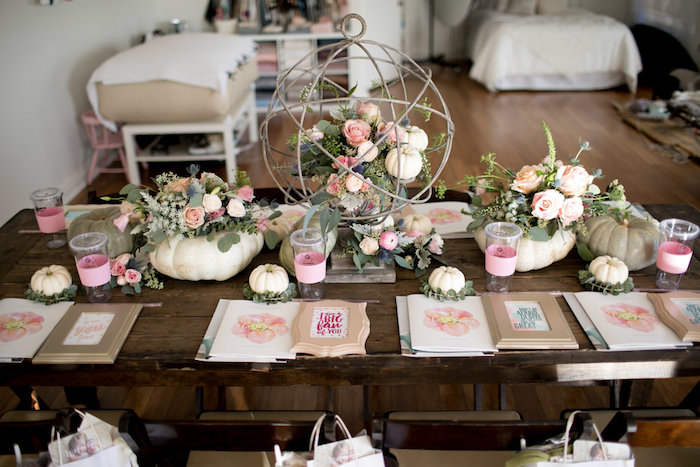 Floral Fall Baby Shower on Kara's Party Ideas | KarasPartyIdeas.com (23)
