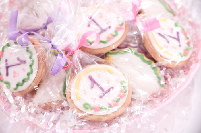 Cookies from a Floral Unicorn Birthday Party on Kara's Party Ideas | KarasPartyIdeas.com (13)