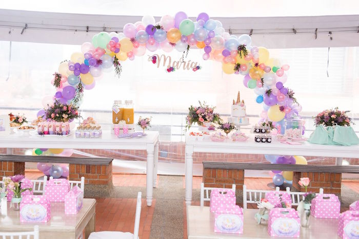 Floral Unicorn Birthday Party on Kara's Party Ideas | KarasPartyIdeas.com (27)