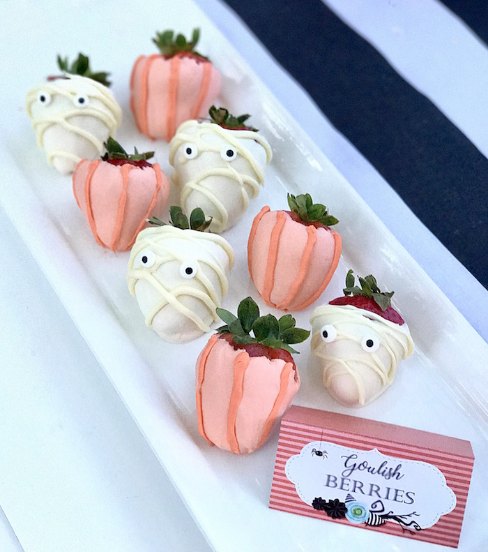 Ghoulish Berries from a Wickedly Sweet Halloween Costume Party on Kara's Party Ideas | KarasPartyIdeas.com (26)