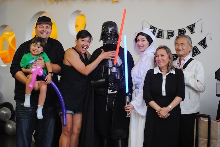 Galactic Star Wars Birthday Party on Kara's Party Ideas | KarasPartyIdeas.com (6)