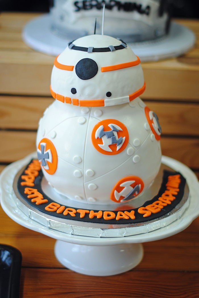 Karas Party Ideas Galactic Star Wars Birthday Party Karas Party