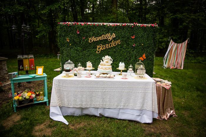 Garden Tea Birthday Party on Kara's Party Ideas | KarasPartyIdeas.com (7)