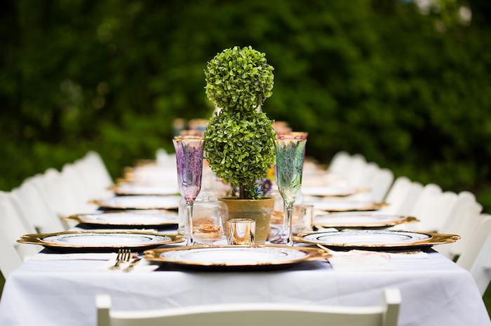 Guest tablescape from a Garden Tea Birthday Party on Kara's Party Ideas   KarasPartyIdeas.com (24)