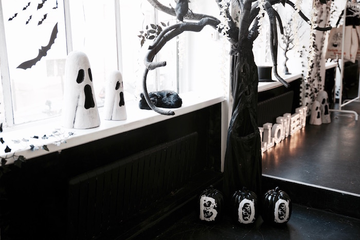 Decor from a Halloween Haunted Garden on Kara's Party Ideas | KarasPartyIdeas.com (21)