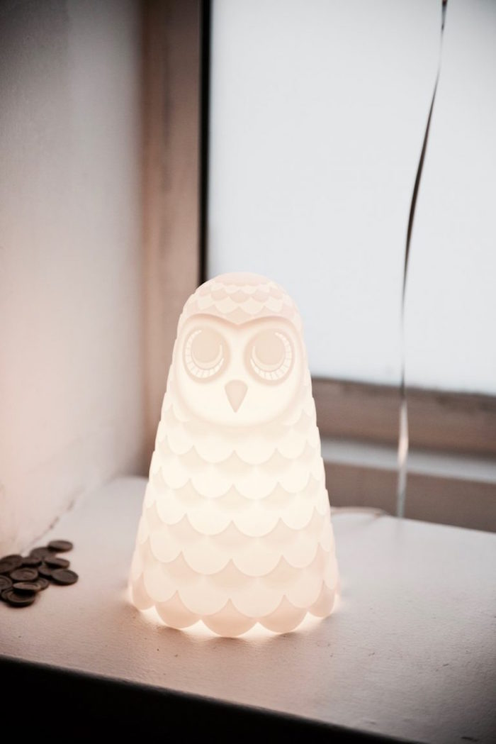 Owl lantern from a Halloween Haunted Garden on Kara's Party Ideas | KarasPartyIdeas.com (15)