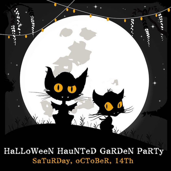 Party Invitation from a Halloween Haunted Garden on Kara's Party Ideas | KarasPartyIdeas.com (10)