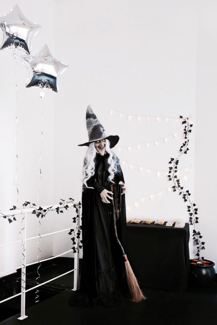 Witch from a Halloween Haunted Garden on Kara's Party Ideas | KarasPartyIdeas.com (6)