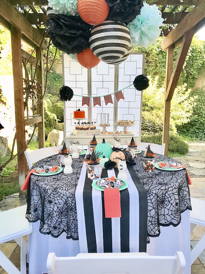 Halloween Party for kids from a Wickedly Sweet Halloween Costume Party on Kara's Party Ideas | KarasPartyIdeas.com (23)