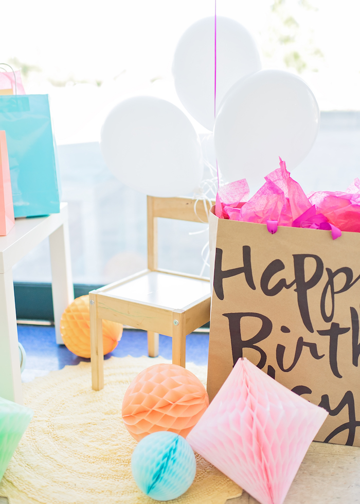 Happy Clouds & Sunshine Birthday Party on Kara's Party Ideas | KarasPartyIdeas.com (10)
