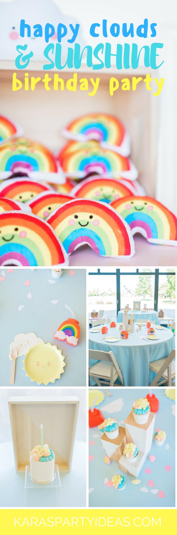 Tea time tea birthday party via kara s party ideas karaspartyideas com - Happy Clouds And Sunshine Birthday Party Via Kara S Party Ideas Karaspartyideas Com