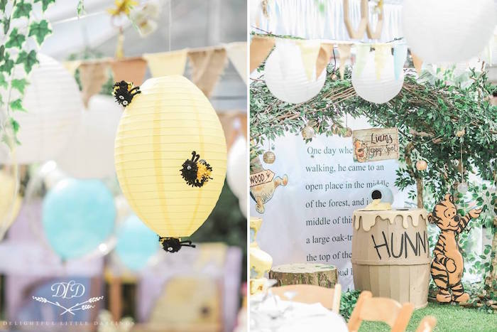 Hundred Acre Wood Birthday Party on Kara's Party Ideas | KarasPartyIdeas.com (31)