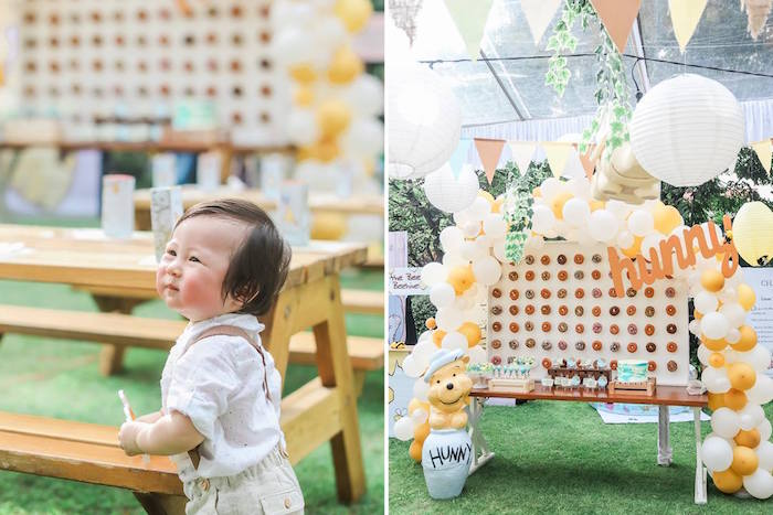 Hundred Acre Wood Birthday Party on Kara's Party Ideas | KarasPartyIdeas.com (20)