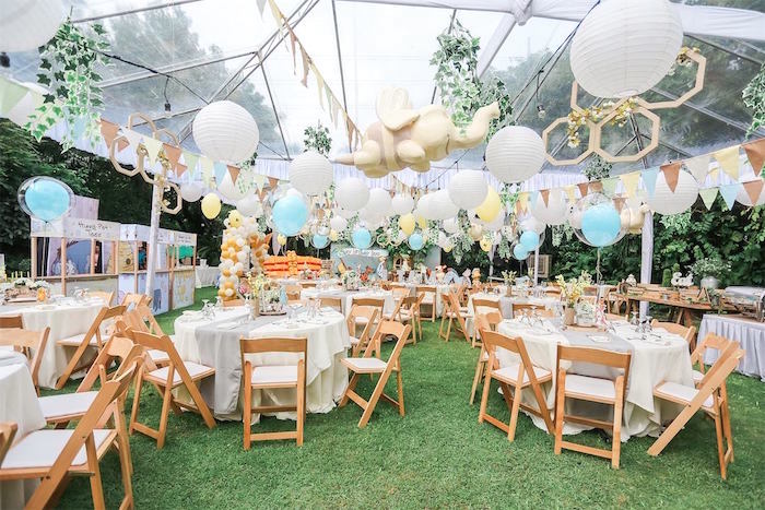 Hundred Acre Wood Birthday Party on Kara's Party Ideas | KarasPartyIdeas.com (14)