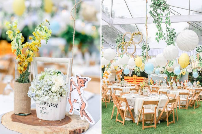 Hundred Acre Wood Birthday Party on Kara's Party Ideas | KarasPartyIdeas.com (11)