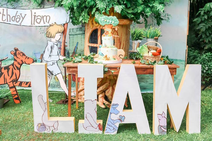 Hundred Acre Wood Birthday Party on Kara's Party Ideas | KarasPartyIdeas.com (39)