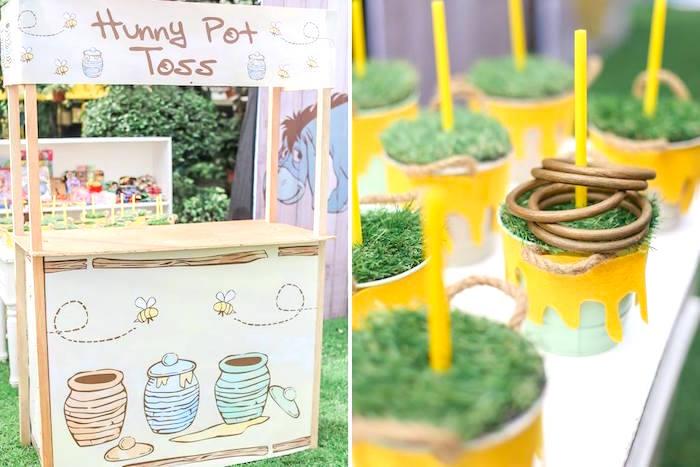 Hundred Acre Wood Birthday Party on Kara's Party Ideas | KarasPartyIdeas.com (38)