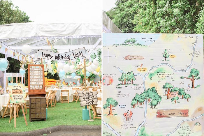 Hundred Acre Wood Birthday Party on Kara's Party Ideas | KarasPartyIdeas.com (34)