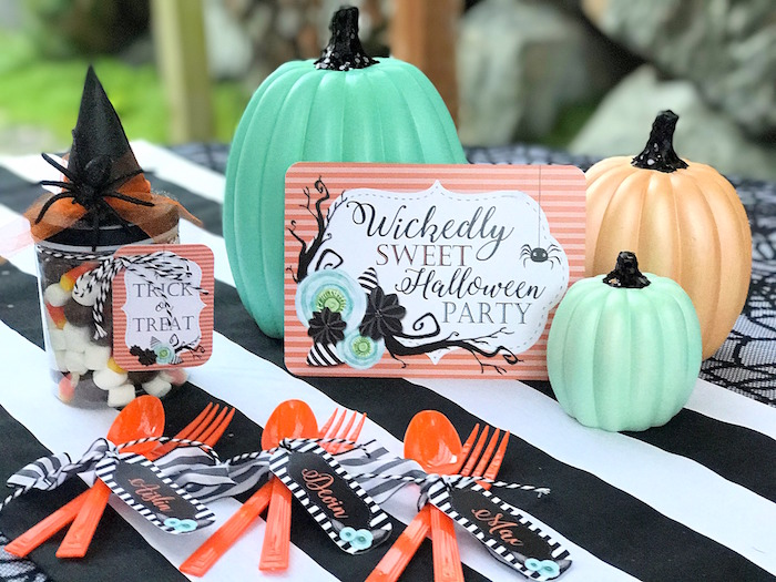 Wickedly Sweet Halloween Costume Party on Kara's Party Ideas | KarasPartyIdeas.com (13)