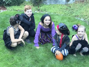 Kid Halloween Costumes from a Wickedly Sweet Halloween Costume Party on Kara's Party Ideas | KarasPartyIdeas.com (10)