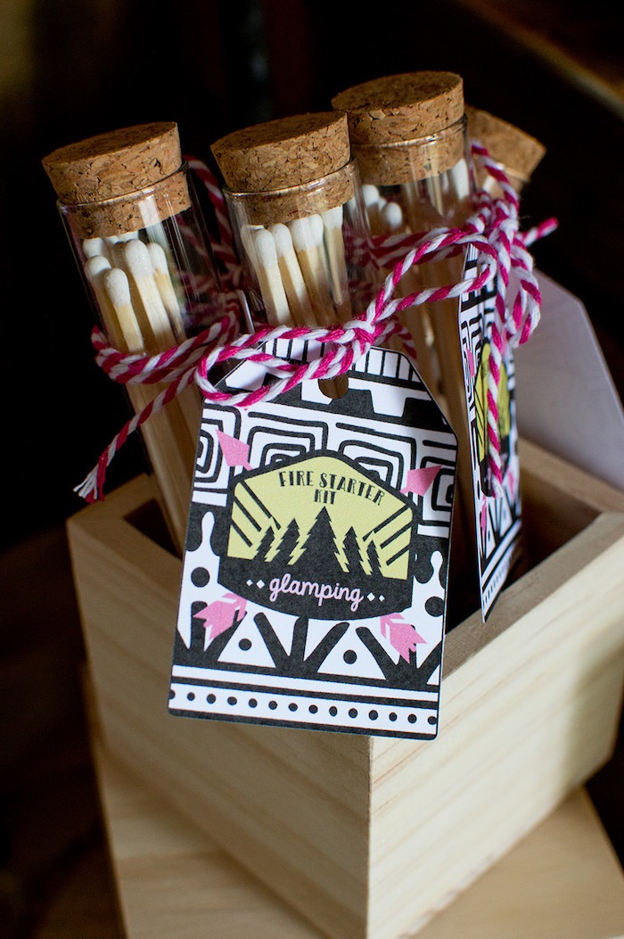 Ladies Night Glamping Party on Kara's Party Ideas | KarasPartyIdeas.com (21)