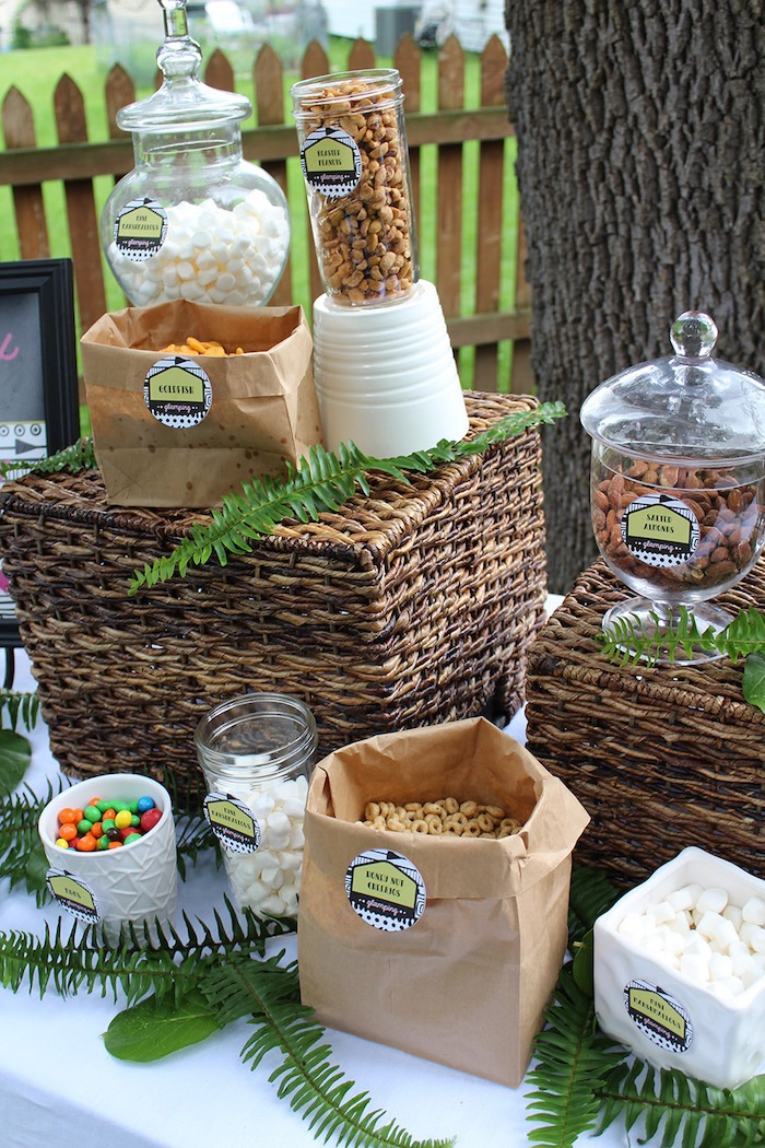 Ladies Night Glamping Party on Kara's Party Ideas | KarasPartyIdeas.com (9)
