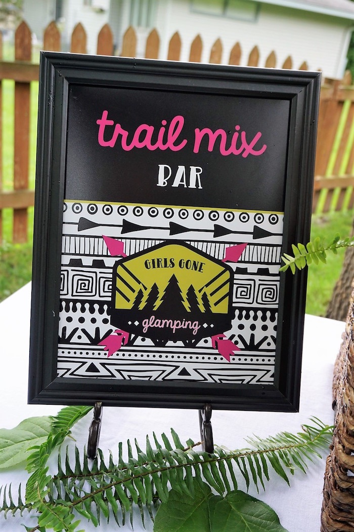 Ladies Night Glamping Party on Kara's Party Ideas | KarasPartyIdeas.com (7)