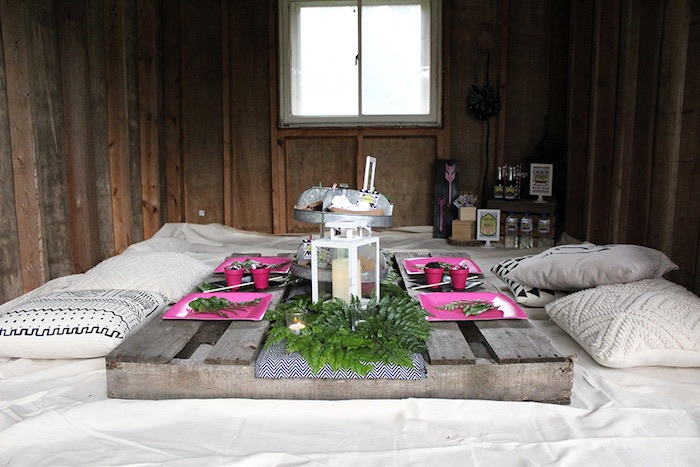 Ladies Night Glamping Party on Kara's Party Ideas | KarasPartyIdeas.com (30)