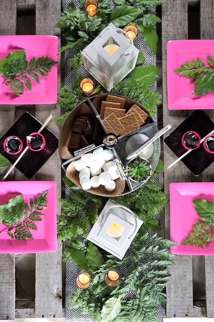 Ladies Night Glamping Party on Kara's Party Ideas | KarasPartyIdeas.com (26)